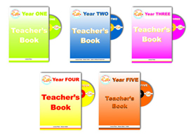 English Teachers Books Years 1-5