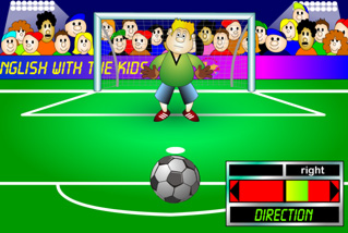 Learn English with Football Games in Englishzone