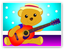 Join Jazz Bear for fun with music