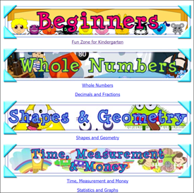 LCF Maths, Online KS1/2 curriculum