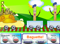 Songs for learning French online