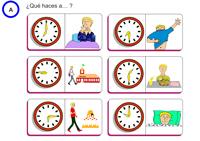 Worksheets for learning Spanish online