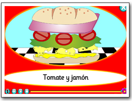 El bocadillo - making a sandwich in Spanish