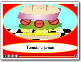 El bocadillo - making a sandwich in Spanish